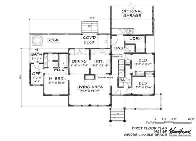 WedgeWood 1st Floor Plan