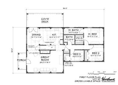 WillowGrove 1st Floor Plan