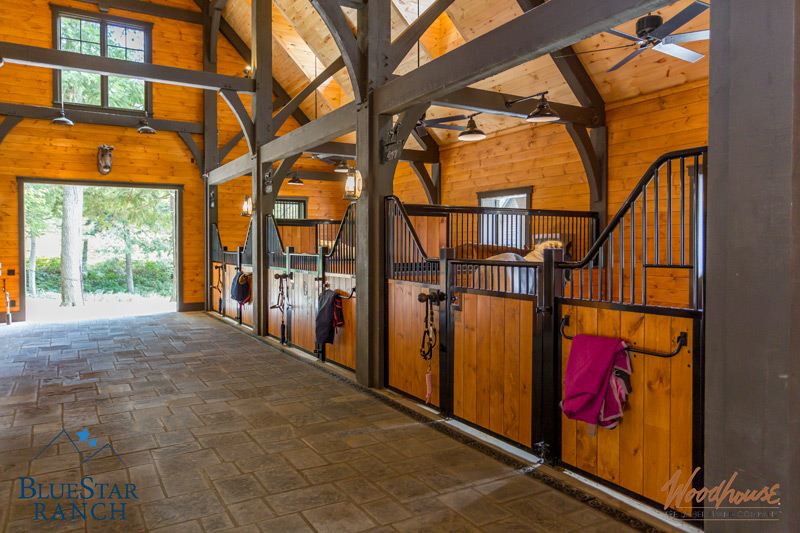 Timber Frame Horse Barns