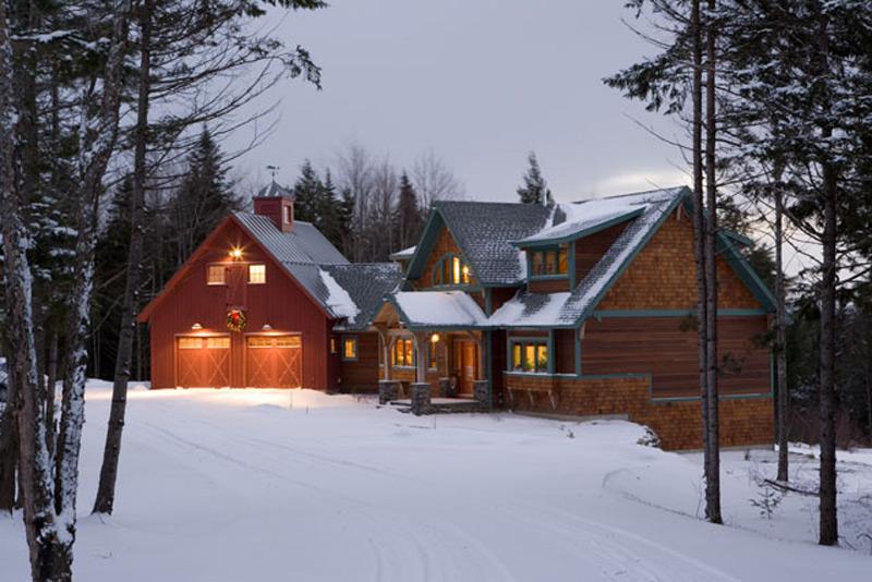 Custom Red Oak Timber Frame Home – Morristown, VT