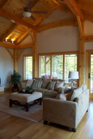 Saranac Southern Yellow Pine Pre-Designed Timber Frame Home