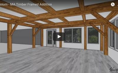 Custom Timber Frame Addition