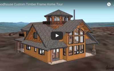 Custom Timber Frame by Woodhouse