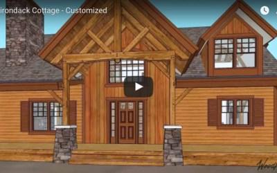 Customized Adirondack Cottage pre-design