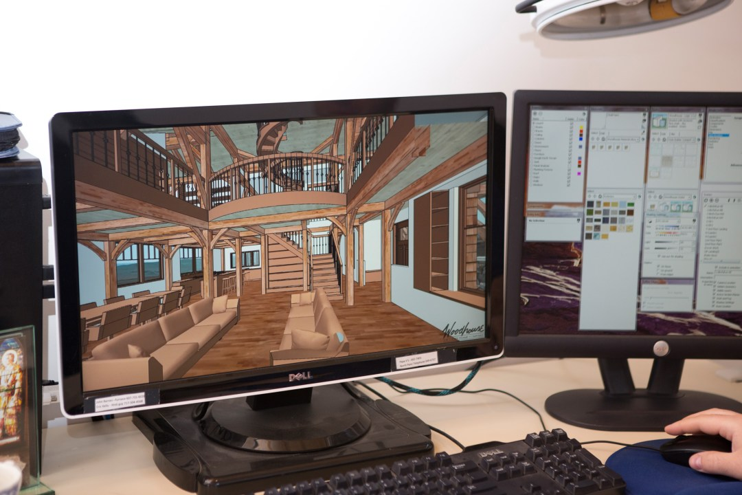 The Woodhouse CAD and Design Process