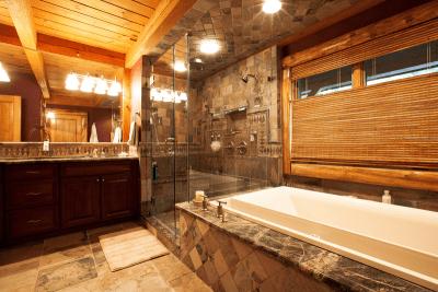 Chapin Timber Frame Master Bathroom