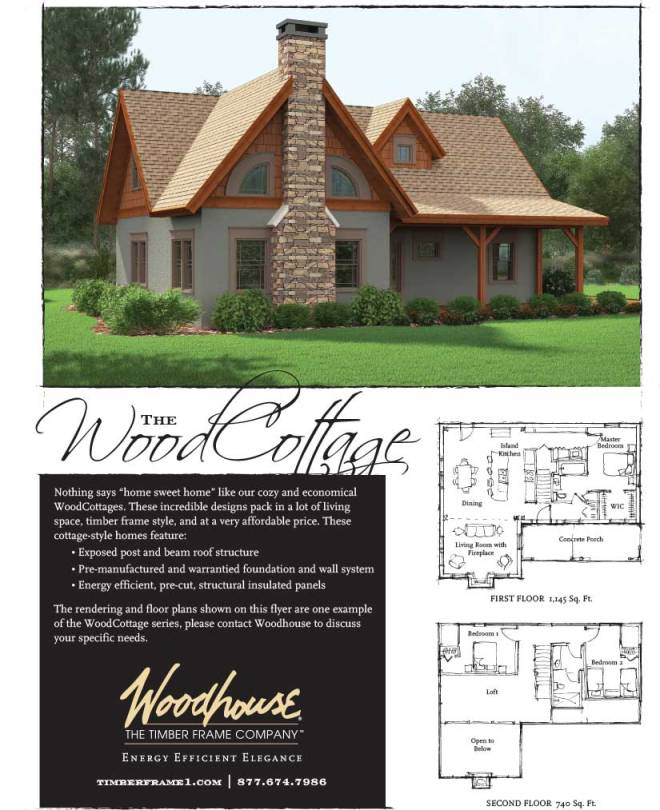 Pre Cut Timber Frame: Introducing The WoodCottage