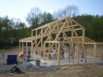 Woodhouse Design Studio Frame Raising