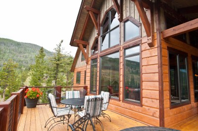 Custom Southern Yellow Pine Timber Frame Home in Keystone, CO