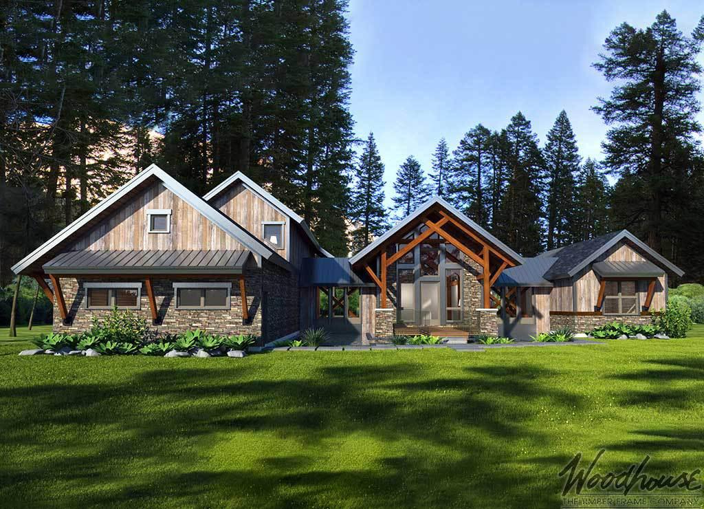 Top 5 Timber Frame Floor Plans In Western North Carolina