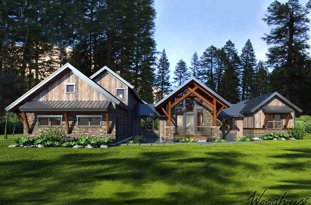 Top 5 Timber Frame Floor Plans in Western North Carolina