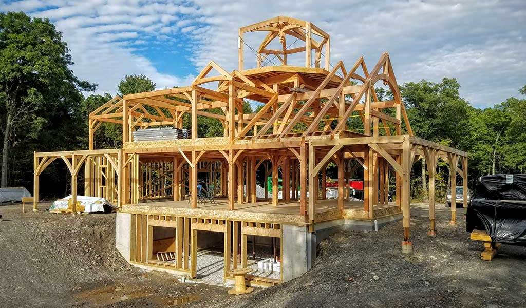 What is a Timber Frame Home? - Woodhouse The Timber Frame Company
