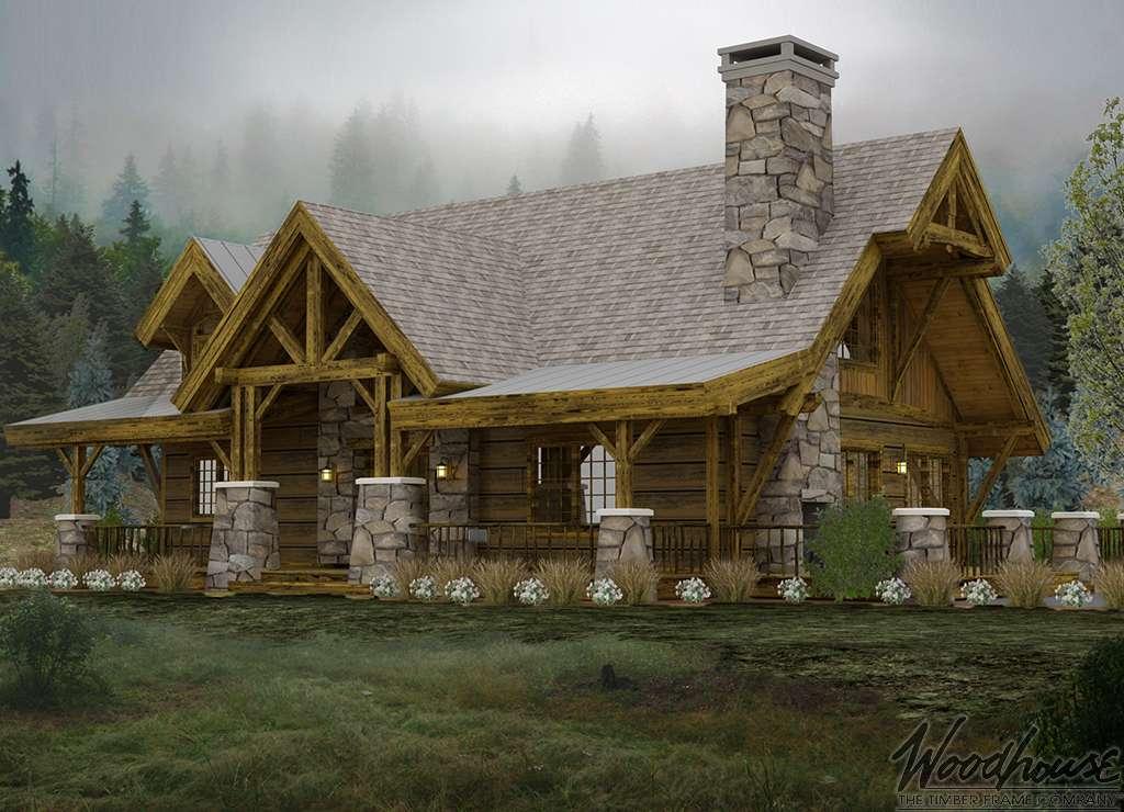 The Colorado Homestead: The AspenRidge - Top Timber Frame Cabin Designs