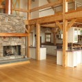 Timber frame homes by vermont timber works inc