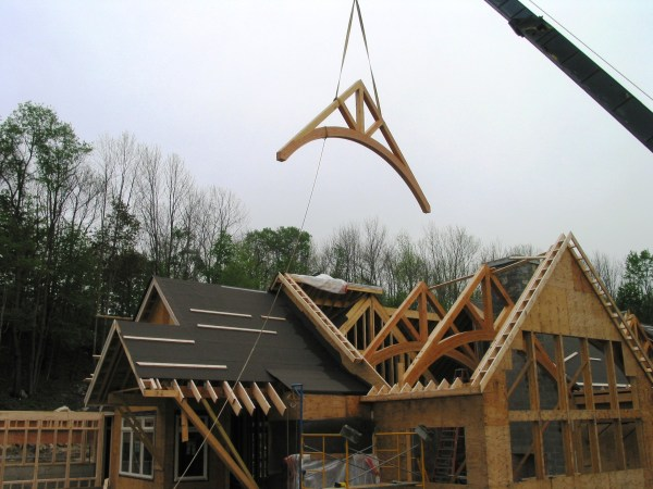 Arches Everwhere Continued Timber Frame Homes &