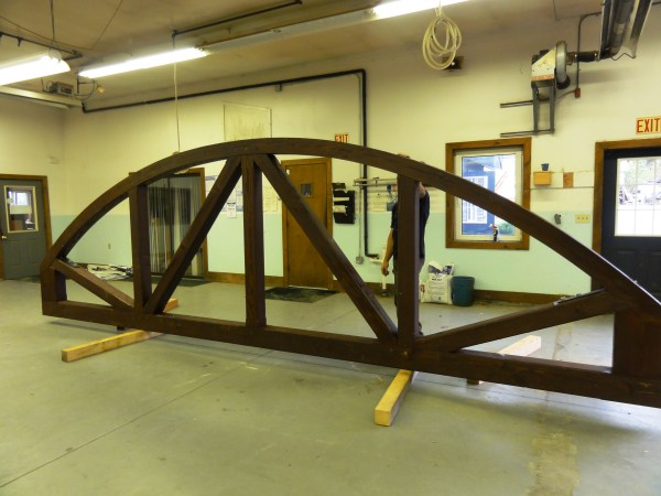 Bow Trusses Timber Frame Homes &
