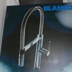 Blanco Master Gourmet Kitchen Faucet Crosley Islands America Parts White Gold