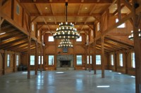 Post and Beam Interior | Timber Frame Homes & More