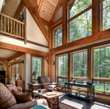Rustic Timber Frame Homes