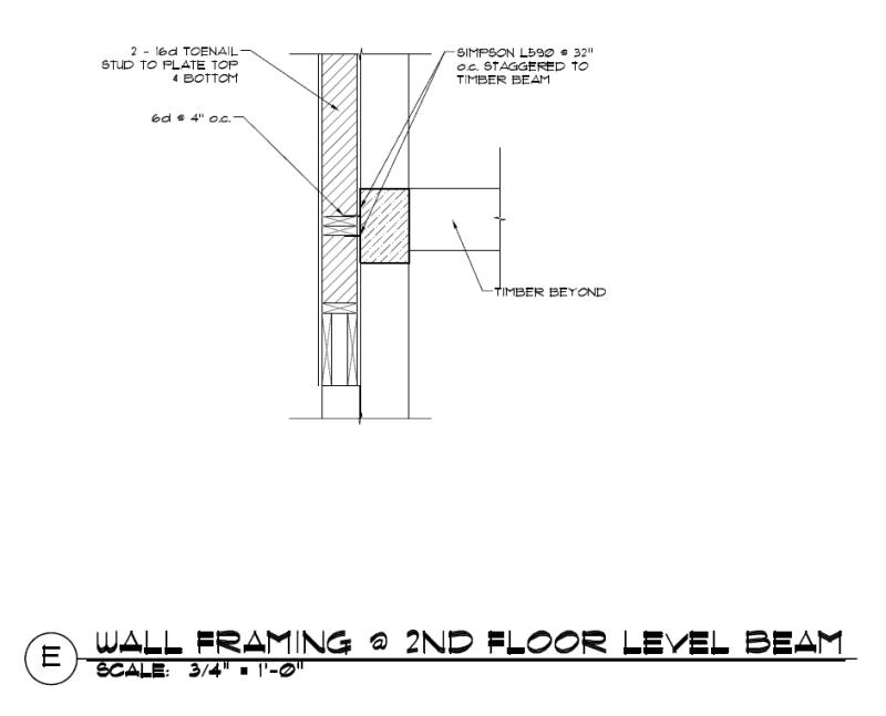 Timber Framed Walls Details   Framebob org