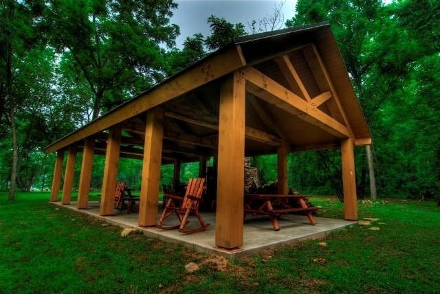 Pavilions And Pergolas Timber Frame Hq