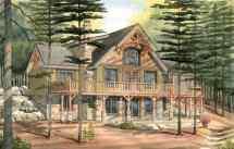 Carleton - Timber Frame Cabin
