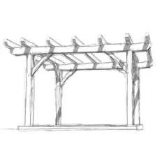 10x12 Timber Frame Shed Plan
