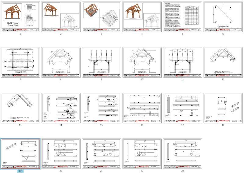 12x12 timber frame timber