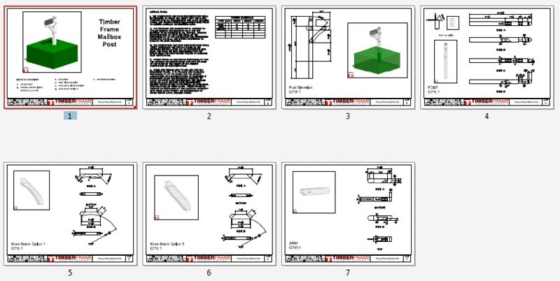 12 X 20 Timber Frame Plans