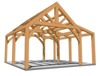 Diy Timber Frame Shed