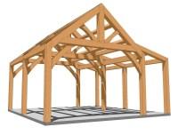 Diy Timber Frame Shed