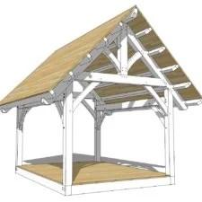 14x16 Timber Frame Timber Frame Hq