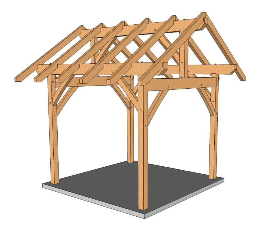 12×16 Wood Shop Layout