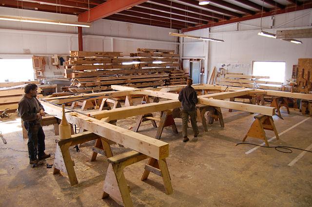 Timber Frame for Sale Lantern Timber Frame