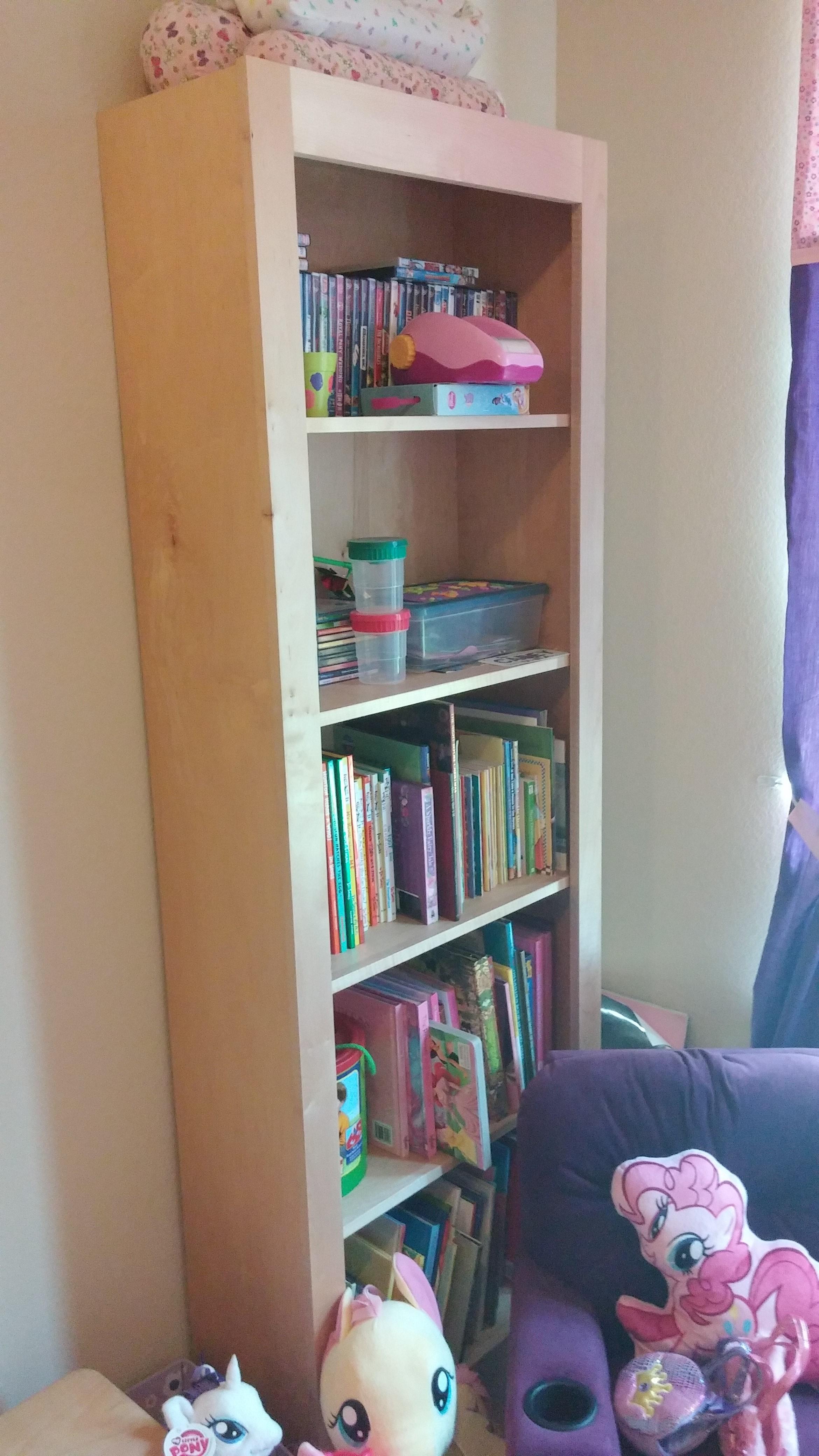 Maple Book Shelves