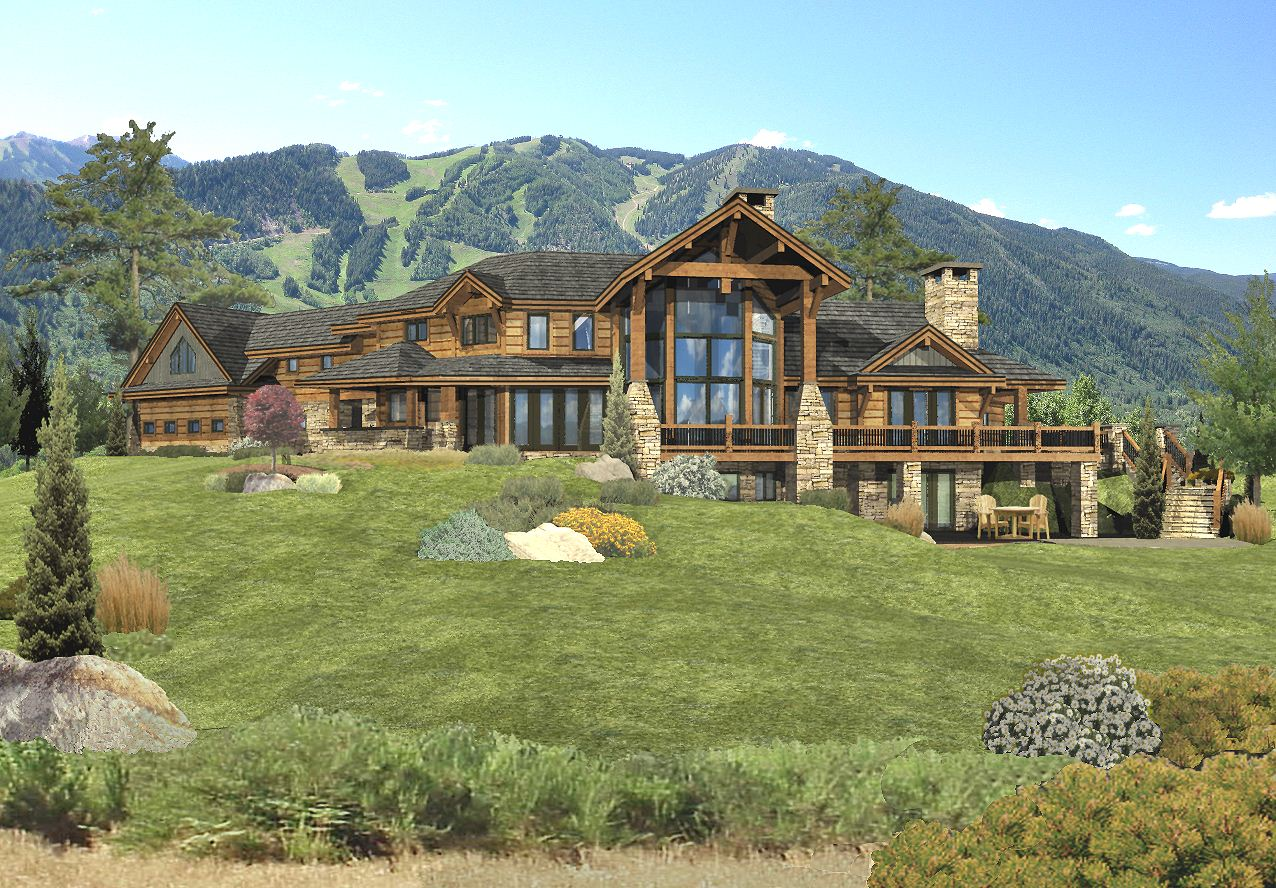 Redwood Falls Log Home Floor Plan By Wisconsin Log Homes
