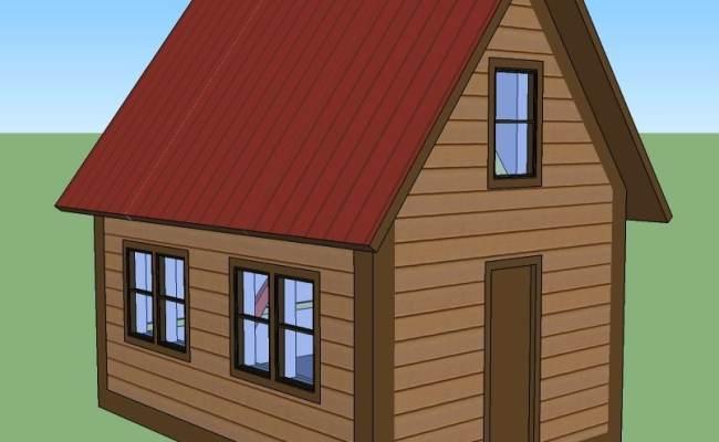 14 X 20 Tiny House