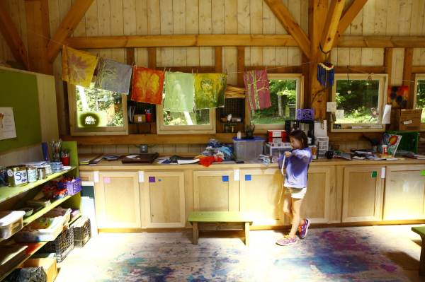 Timber Frame Barn Farm And Wilderness Summer Camp