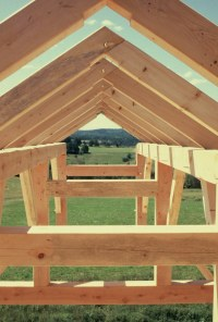 Timber Frame Studio Apartment over Garage