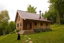 Vermont Craftsman Timber Frame Home