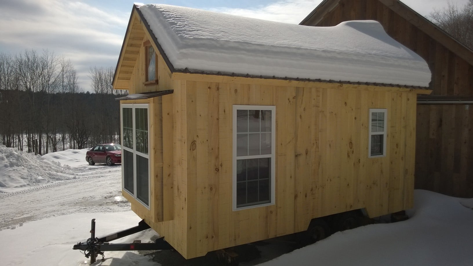 Energy Star Home Timber Frame Barn and Tiny House