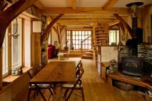 Humble Abode Small Vermont Timber Frame Home