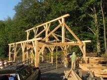 Timber Frame Shed Equipment And Boat Storage