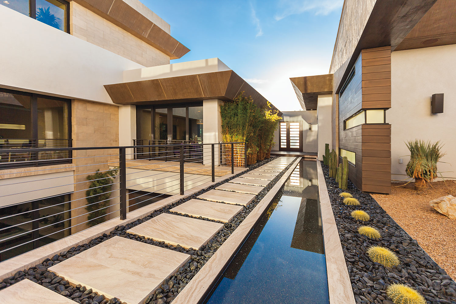 Water is Everywhere at The New American Home