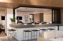 Indoor Outdoor Home Bar Design