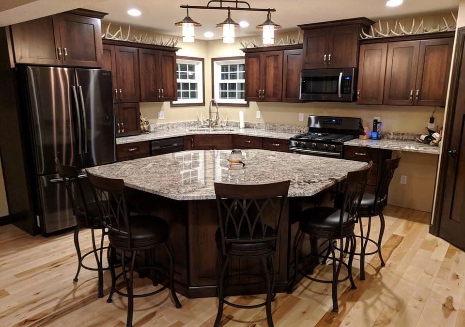 Kitchen Cabinets  Full Overlay Shaker Maple With Dark