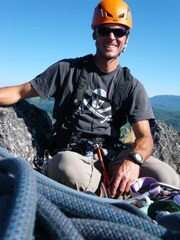 Aaron Hartz of Timberline Mountain Guides
