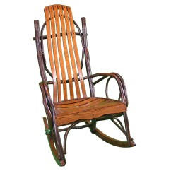 Wooden Rocking Chair Plans Brown Adirondack Chairs  Timber Lodge Furniture