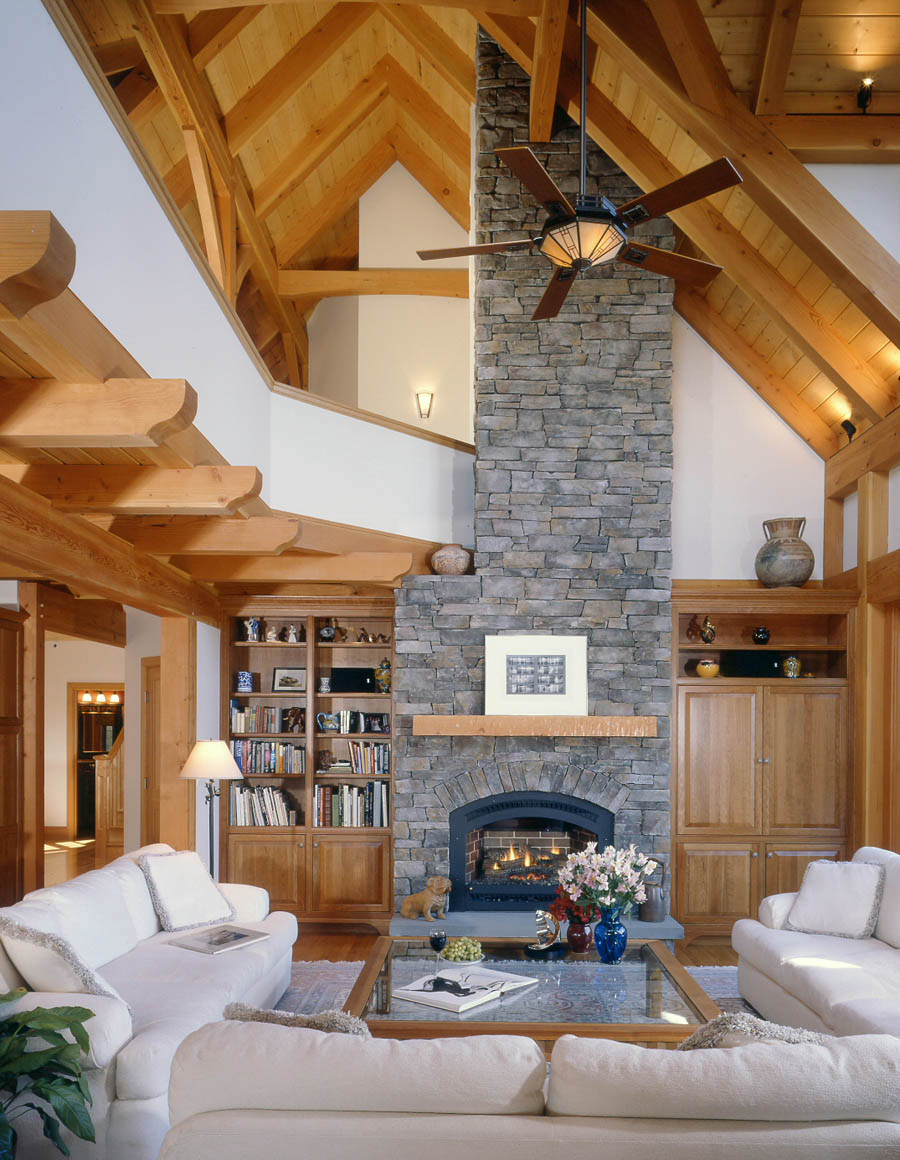Use Ceiling Height To Create Unique Spaces Timberpeg