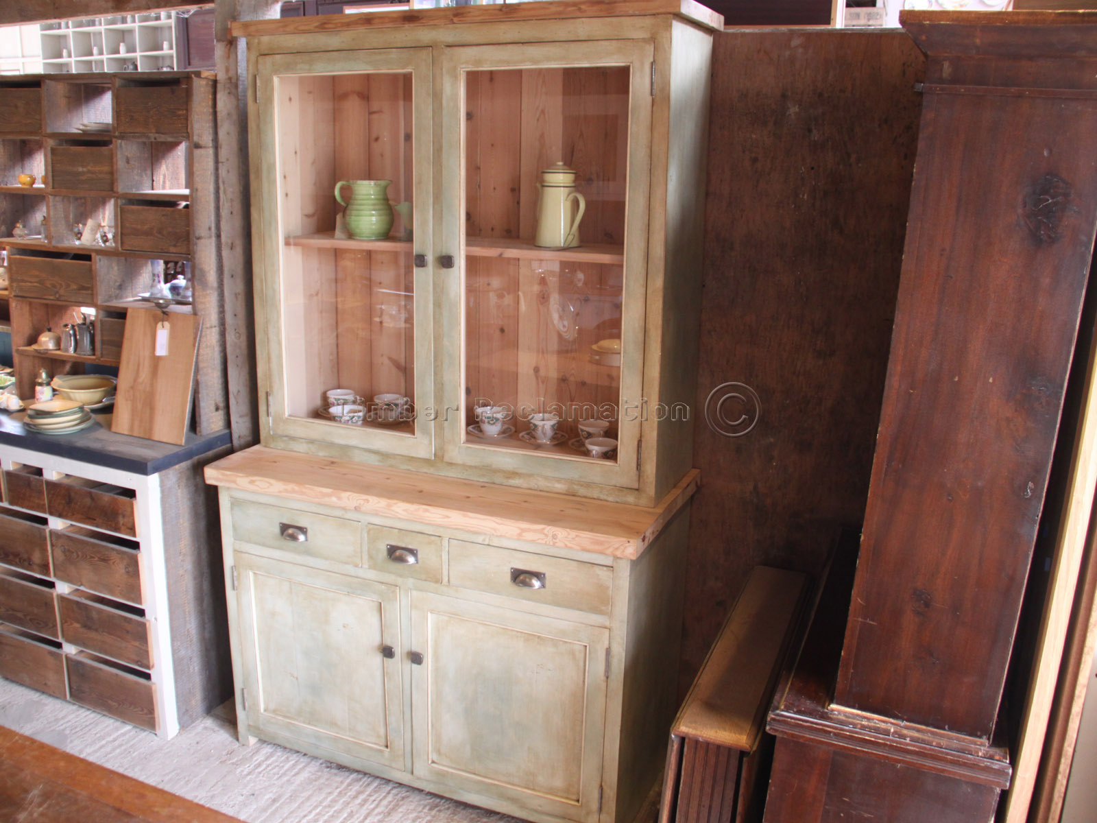 kitchen dresser hotels with kitchens in rooms bespoke furniture from reclaimed timber free standing